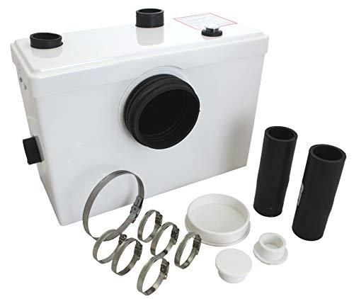 Tuecompra S.L. - Triturador Sanitario WC 600 W - Bomba trituradora para Lavabo, baño o Cocina