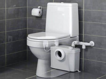 triturador wc empotrado